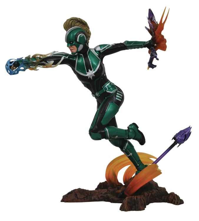 Diamond Marvel Gallery Captain Marvel Starforce Statue